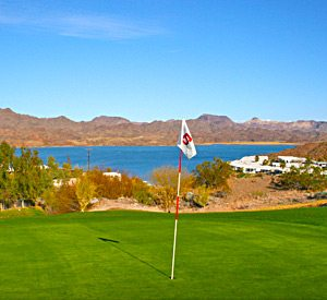 Executive 9 Hole Lake Havasu Golf Course at Havasu Springs Resort