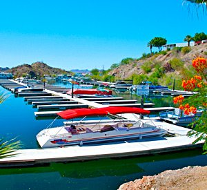 Lake Havasu Boat Slip Rentals - Havasu Springs RV Resort