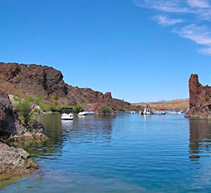 Copper canyon on lake havasu havasu springs resort for Canyon lake fishing spots