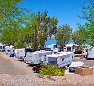 Lakefront RV Sites - Havasu Springs Resort